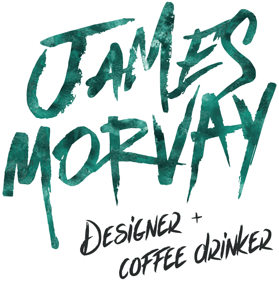 James Morvay Designer and Coffee Drinker